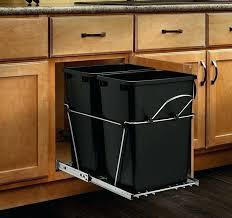 garbage can under the sink under sink garbage can under sink garbage can sink clogged no
