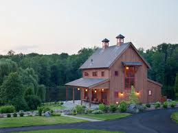 Barn Style Home Plans Outdoor Alluring Pole Barn With Living Quarters For Your Home