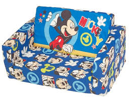 mickey mouse clubhouse flip open sofa with slumber mickey mouse clubhouse flip open sofa sleeper conceptstructuresllc com
