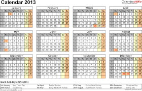 4 best images of 2013 printable calendars templates pdf blank