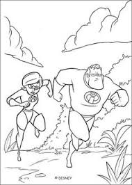 printable syndrome evil incredibles family coloring pages