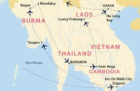 Saigon On World Map by Grand Tour Of Burma And Indochina Burma Jules Verne