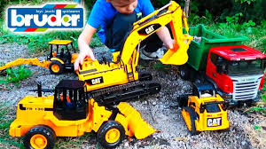 excavator for children trucks for kids working machines