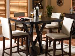 rooms to go dining sets bar enrapture high top trestle tables stunning high top granite