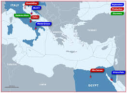 European Exploration Map Greater Mediterranean U2022 Rockhopper Exploration Plc
