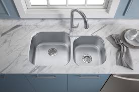 Kohler Kitchen Sinks And Faucets Hole Double Basin Kitchen - Kohler double kitchen sink