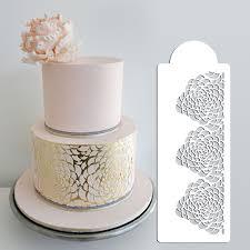 Camilla Rose Stencil set 3 Tier Cake Stencil Wedding Cake