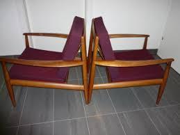 sessel 50er design grete jalk 2 teak sessel lounge chairs für and