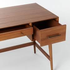 Small Mid Century Desk Mid Century Desk Acorn West Elm Uk