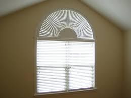 elegant half circle window shades