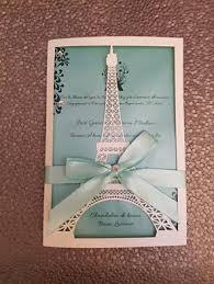 eiffel tower wedding invitations eiffel tower laser cut quinceanera wedding invitation