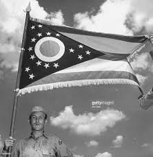 Ohios State Flag A View Of The Ohio State Flag During A P Pictures Getty Images