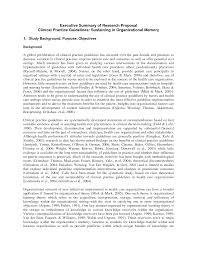 Executive Summary Resume Sample by Sample Grant Proposal Executive Summary Resume Examples For