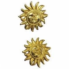 hm earrings versace for h m women earrings vestiaire collective