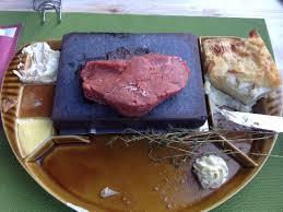 cuisiner un rumsteak rumsteak de boeuf 300 gr picture of restaurant chalet