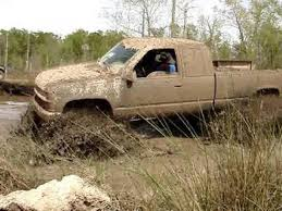 Chevy And Ford Truck Mudding - chevrolet silverado lifted