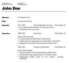 types of resume formats types of resumes formats paso evolist co