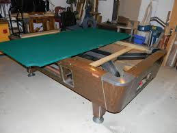 Valley Pool Tables by Restoring A Vintage Valley Coin Table Azbilliards Com