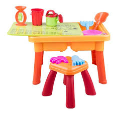 sand and water table with lid kids beach sand and water table toys with lid and stool online