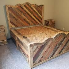 Diy Pallet Bed With Storage by 180 Best Pallets Images On Pinterest Pallet Ideas Pallet Wood