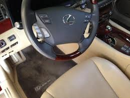 lexus ls interior cashmere interior owners what color mats clublexus lexus