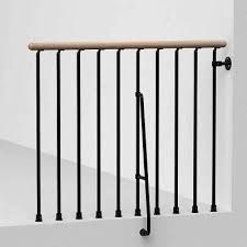 Fusion Banister Interior Handrails Stair Parts The Home Depot