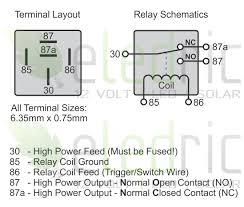 12v 5 pin relay wiring diagram gooddy org