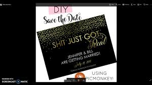 make your own save the date diy save the date how to make your own save the date cards