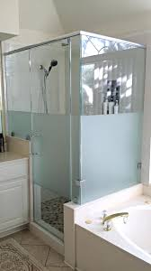 Removing Shower Doors Replace Shower Door Magnet Cost To Glass Repair Drip Rail