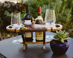 wine bottle tray wood wine caddy wine bottle holder wine glass holder wine