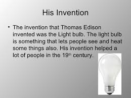 thomas edison the most important inventor of the 19th century