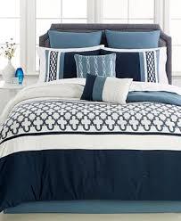 King Comforter Sets Blue Closeout Verona Blue 8 Pc King Comforter Set Bed In A Bag