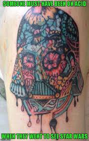 darth vader tattoo imgflip