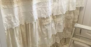 Shabby Chic Voile Curtains Curtains Curtain Bouquet Beautiful Shabby Chic Curtains