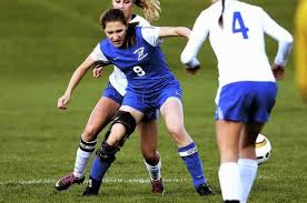 knee brace for soccer players saratoga cassidy driscoll seen here competing vs shaker in a