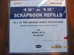 pioneer photo albums inc 12 x12 top loading sheet protectors scrapbook refills from