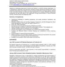 Psw Sample Resume by Aircraft Engineer Resume Reliability Engineer Summary 13 Years Of