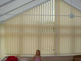 Window Blinds Curtains by Shapped Vertical Blinds For An Apex Conservatory Windows