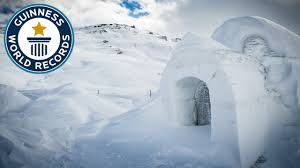 igloo largest dome igloo guinness world records youtube
