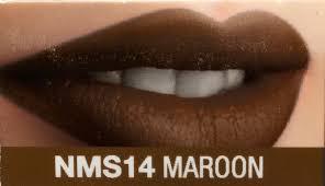 matte maroon lipstick nicka k vivid matte lipstick maroon the beauty emporium