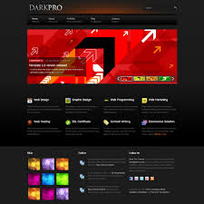 html business templates free download with css black website templates