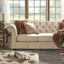 Chesterfield Sofa Australia Linen Chesterfield Sofa And Grace Grey Linen Fabric Chesterfield