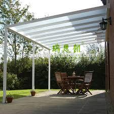 Transparent Patio Roof Freesky Transparent Polycarbonate Garden Gazebo Buy