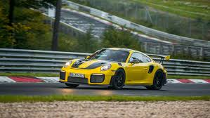 porsche spyder yellow porsche gt2 rs is now the fastest road car fortune