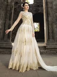 exclusive wedding dresses floor touch indian dresses online usa white floor touch anarkali