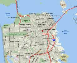 san francisco map california san francisco city tourist maps pictures california map cities