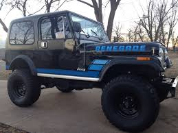 renegade jeep cj7 1984 jeep cj 7 renegade survivor factory paint and graphics