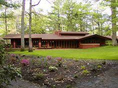 frank lloyd wright inspired house plans benjamin randadesign on