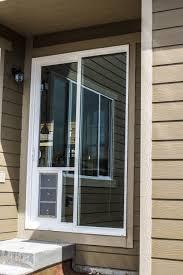 Glass Exterior Door Pet Ready Exterior Doors Sliding Door Insert Large For Glass