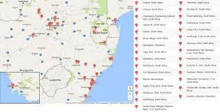 Swaziland Map Locations Where Pevention Time Sponsors Aids Prevention Programs